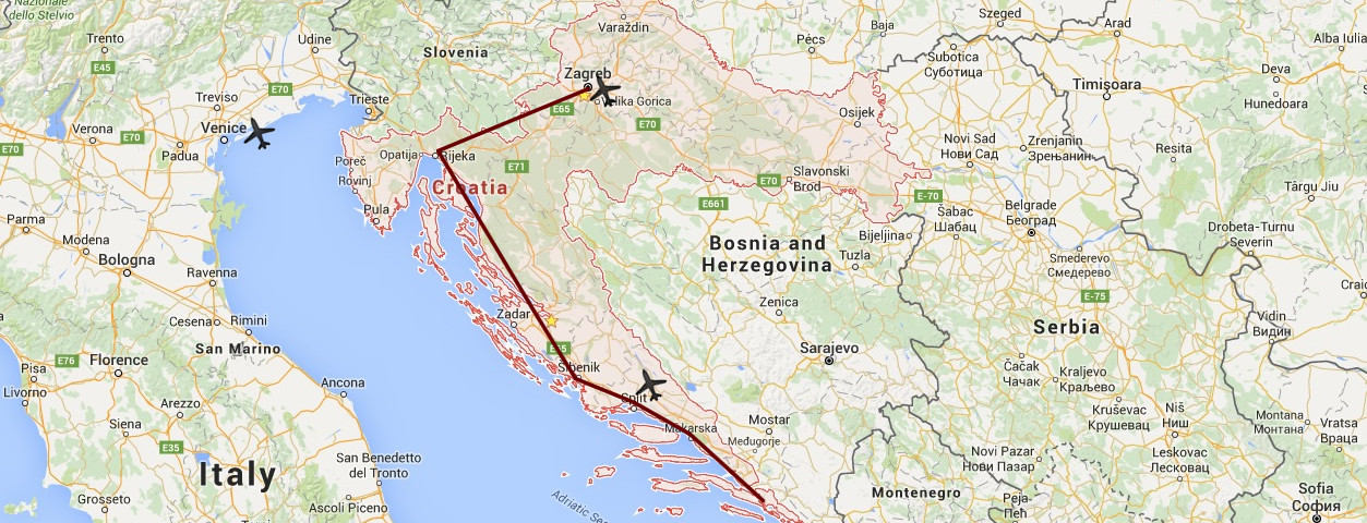 Rutas por Croacia
