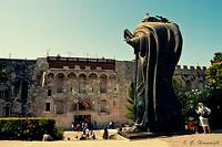 Entrada al casco antiguo Split Croacia viaje