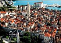 Panorama de Split y su puerto