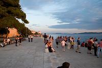 Zadar vista mar
