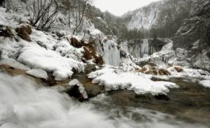 Los Lagos de Plitvice en invierno