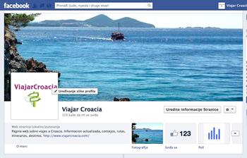 Viajar Croacia en Facebook