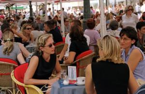 Los cafes en Croacia