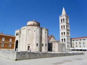 Foro romano de la ciudad de Zadar